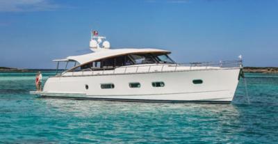 Riviera Belize 66 Sedan - 2 - yacht and sea