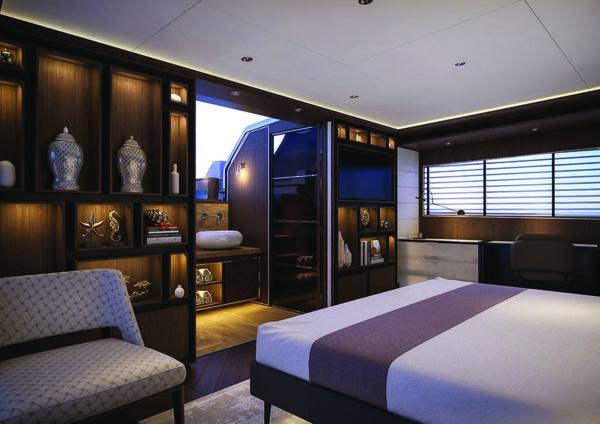 Sirena 88 interior2 - yacht and sea