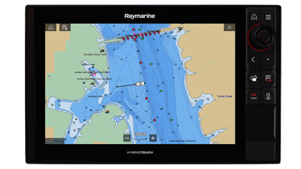 Raymarine LightHouse Annapolis 3 - yacht and sea