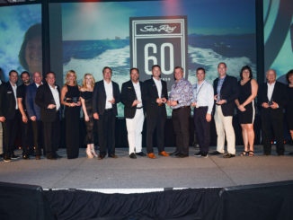 SeaRayCelebration60th-yacht and sea