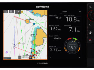 Raymarine LightHouse Annapolis 1- yacht and sea