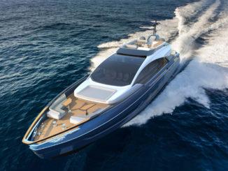 Azimut Grande S10_running_yacht_and_sea