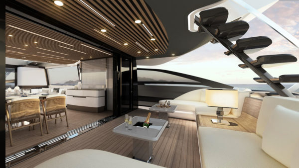 Azimut S10_main deck (3)_yacht and sea