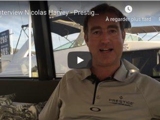 Nicolas Harvey - President Prestige Yachts America