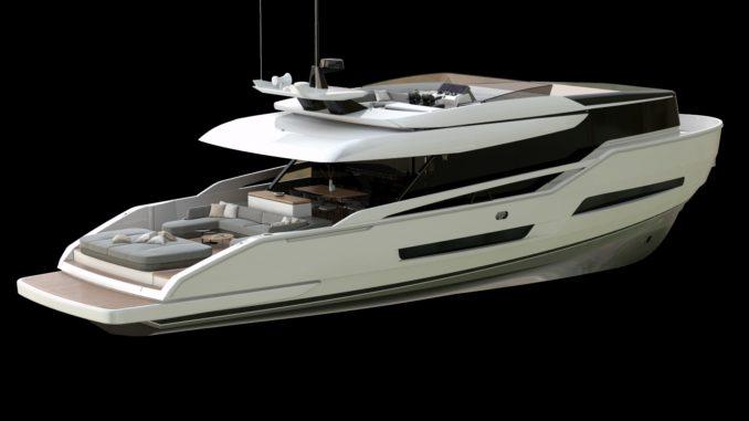 ISA EXTRA 76 - Yacht and Sea