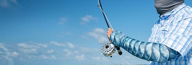 BUFF UV Arm Sleeve fish style