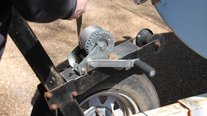 How to replace a winch strap