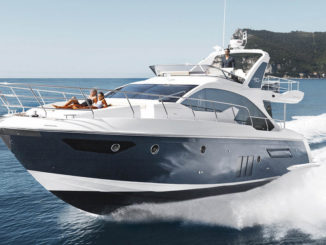 Azimut 50 fly - yacht and sea