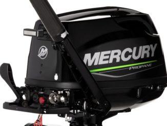 Mercury 5hp propane engine - yacht and sea