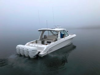 Boston Whaler 380 Realm - yacht and sea