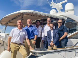 Riviera yachts and Sun Marine Team