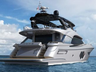 Monte Carlo MC76 - Yacht and Sea