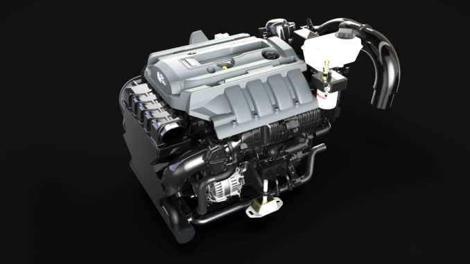 Indmar 2.3L EcoBoost - yacht and sea