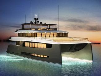 Amasea yachts catamaran - yacht and sea