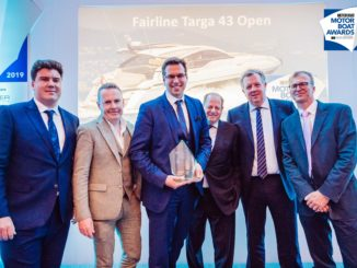 Motor Boat Awards 2019 - Fairline - Yacht and sea